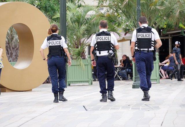 Imágenes recurso de los policías