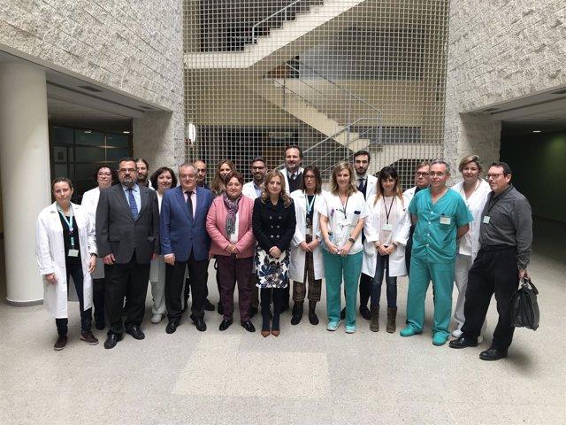 La consejera de Salud en Huelva