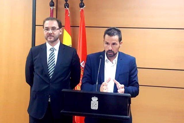 Mario Gómez, en la rueda de prensa