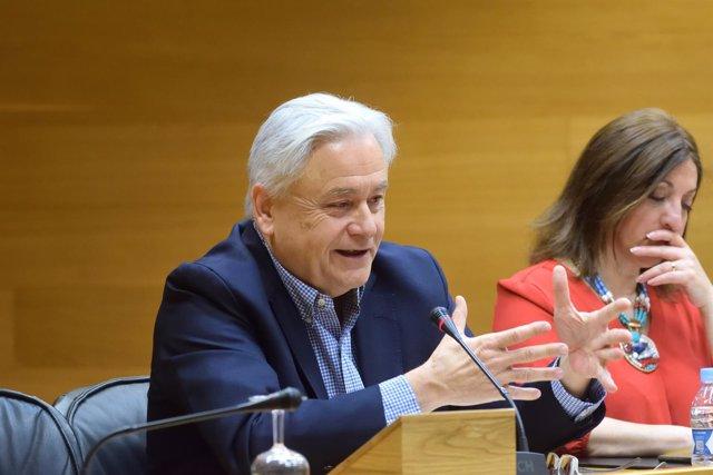 Alberto Catalá en la Comisión de Feria Valencia