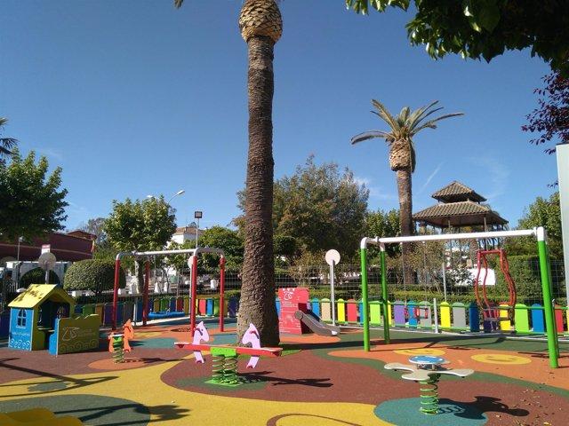 Parque de Valencia de Alcántara