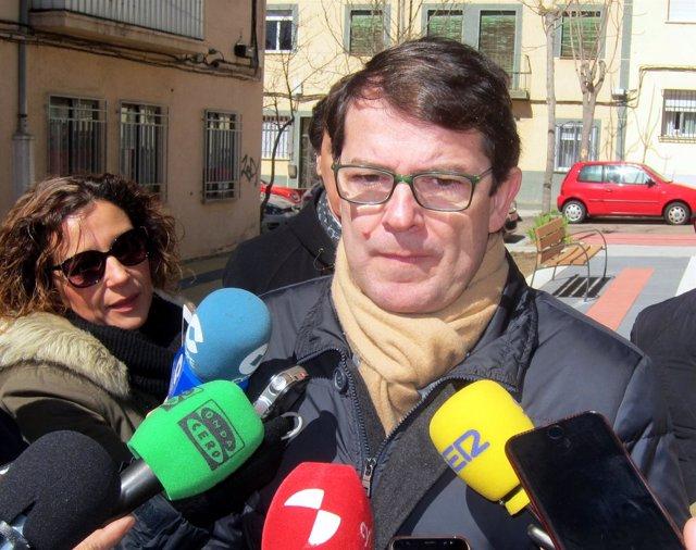 El presidente del Partido Popular en Castilla y León, Alfonso Fernández Mañueco