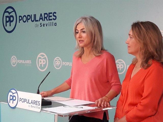 Las populares Patricia del Pozo y Macarena O'Neill