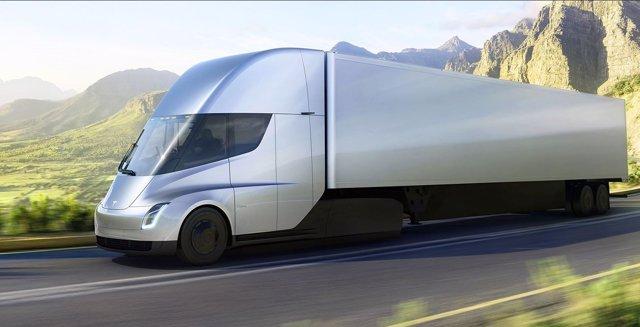 Camión Semi de Tesla
