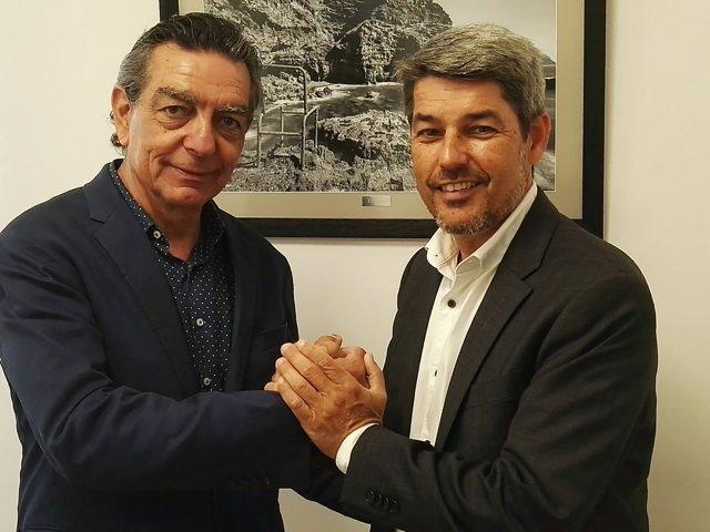 Reunión entre Barceló y el Cabildo