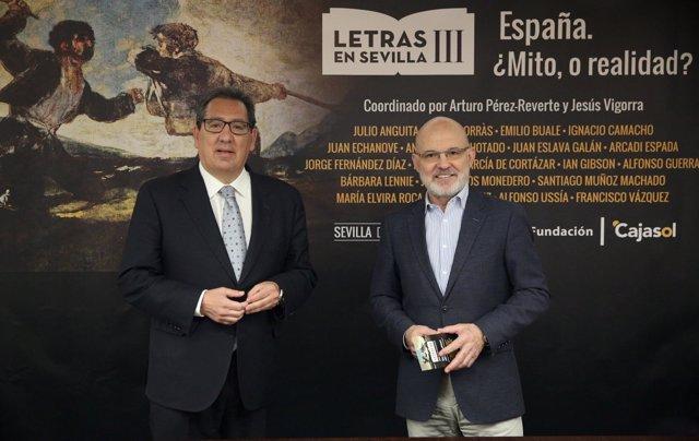 Antonio Pulido y Jesús Vigorra