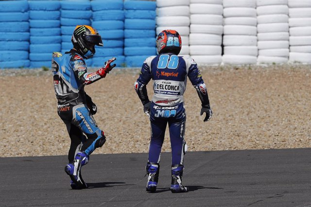 Canet se disculpa ante Martín en Jerez