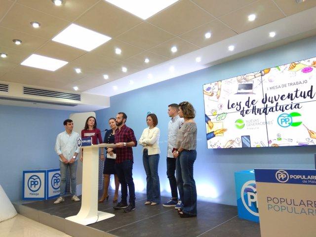 Rueda Ley de Juventud de Andalucía PP Málaga