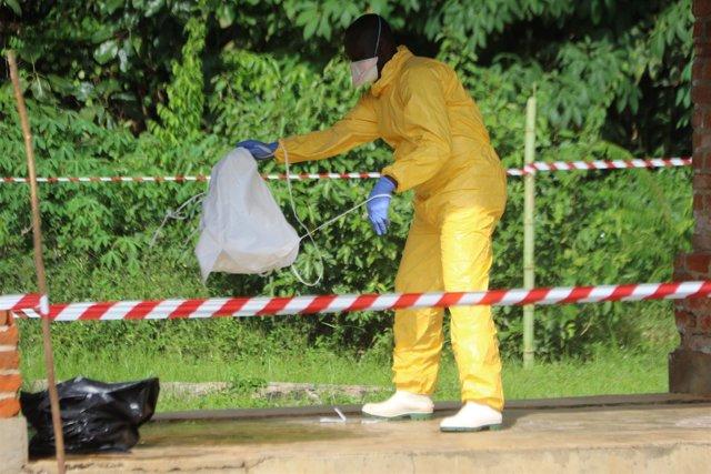 Brote de ébola en Bikoro (República Democrática del Congo)