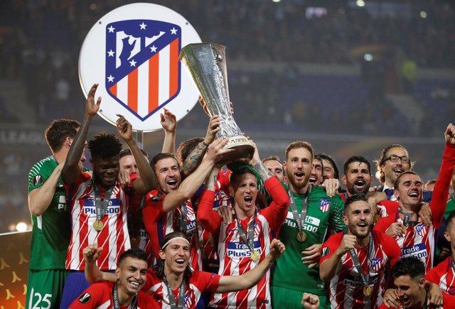 El Atlético de Madrid, campeón de la Liga Europa