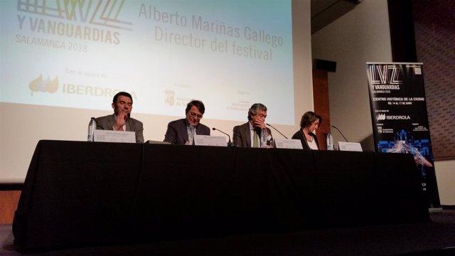 El alcalde de Salamanca, Alfonso Fernández Mañueco, presenta 'Luz y Vanguardias'