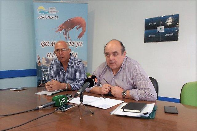 Ignacio López (Cofradía de Pescadores) y José María Gallart (Faap)