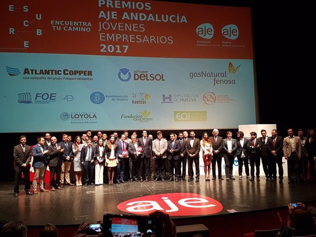 Finalistas de los Premios AJE 2017