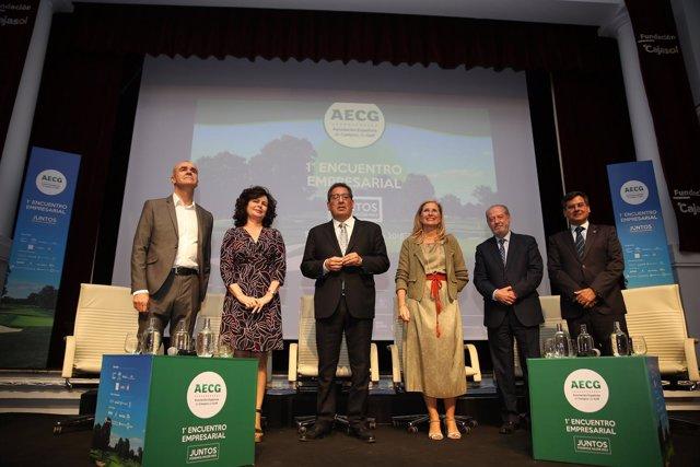 Los campos de golf se reúnen en Sevilla
