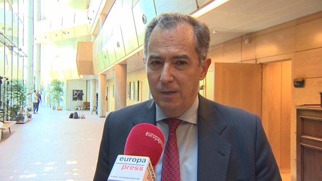 Ossorio en la Asamblea de Madrid
