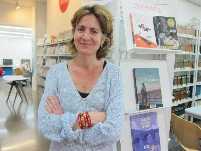La escritora y periodista Pauline Dreyfus