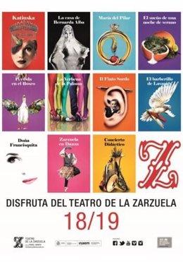 Presentación de temporada 18/19 del Teatro de la Zarzuela