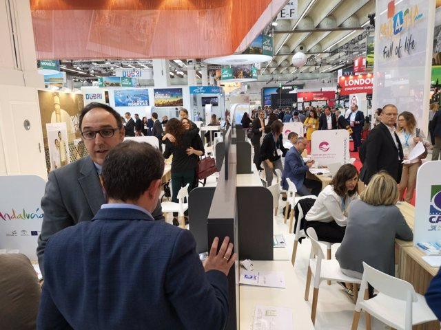 Reunion profesionales turismo IMEX feria eventos MICE workshop panel