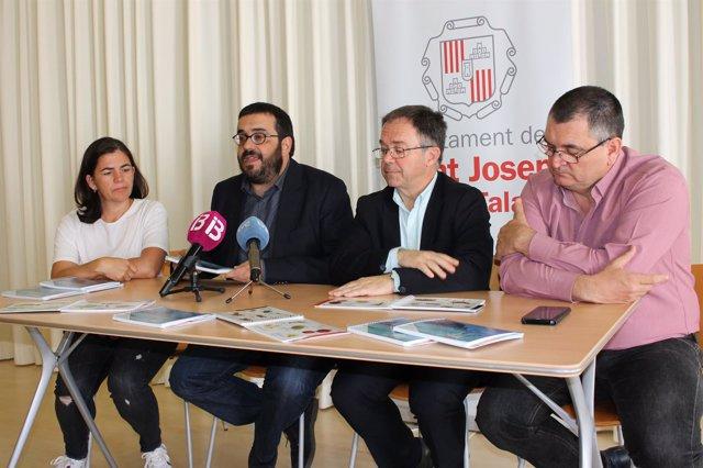 Rueda de prensa de Vicenç Vidal en Ibiza