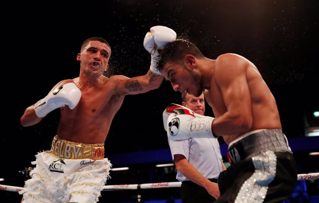 Boxing - Lee Selby vs Eduardo Ramierz - IBF World Featherweight Title - The Copp