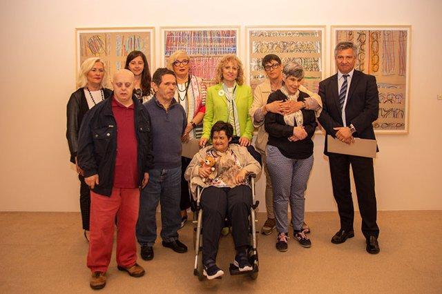 Inauguración de la exposición 'Pintamos y mucho'