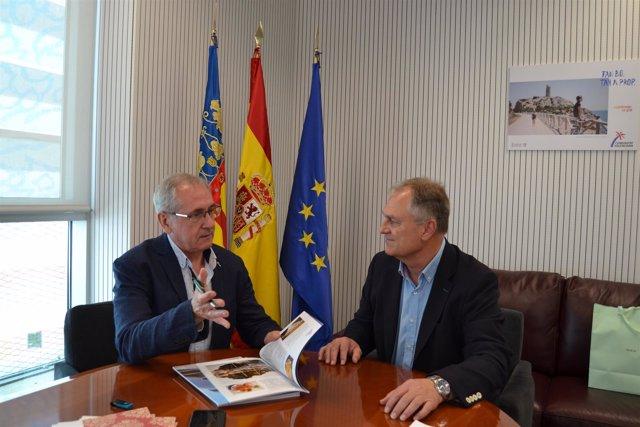 Reunión entre Llíria y la Agencia Valenciana de Turismo