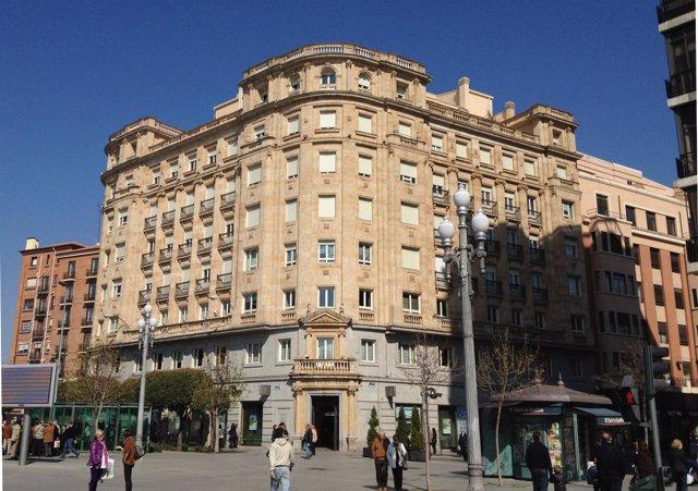 Imagen de archivo de la Plaza de Zorrilla.