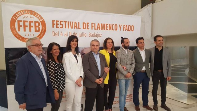 Presentación del Festival de Flameco y Fado