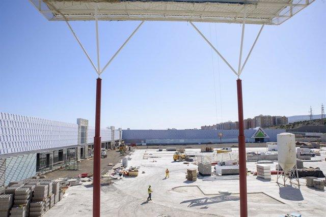 Obras del Centro Comercial de Torrecárdenas de Almería
