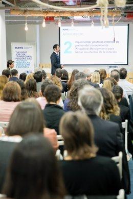 El director de Tecnología de la Información en Hays España, Julien Mur