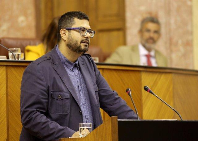 El portavoz de Salud de Podemos Andalucía, Juan Antonio Gil