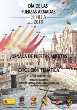 Cartel de la celebración del Día de las Fuerzas Armadas