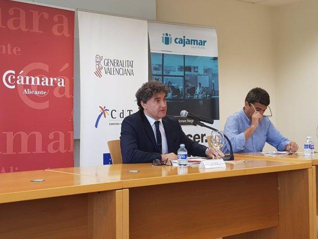 Francesc Colomer, este jueves en Alicante