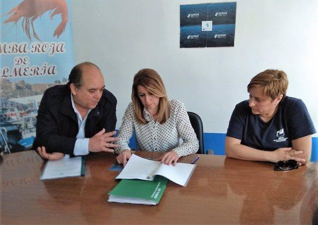 Asopesca se reúne con la presidenta de la Junta, Susana Díaz