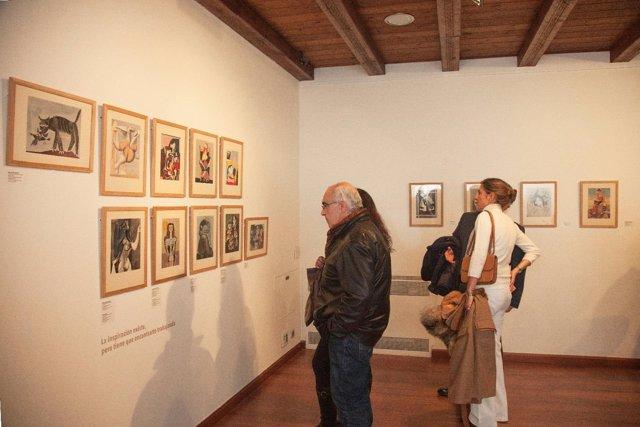 Exposición en la fundación mercedes calles