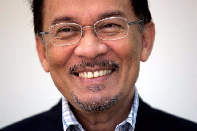 El opositor malasio Anwar Ibrahim