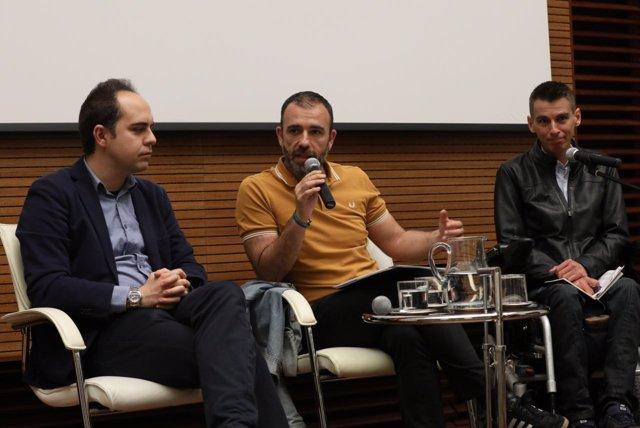 Pablo Soto, Nacho Murgui y José Manuel Calvo