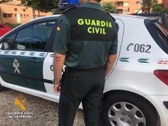 Patrulla de la Guardia Civil