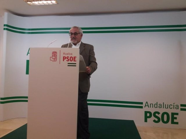 El parlamentario andaluz por el PSOE de Huelva Diego Ferrera.