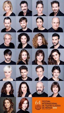 Actores del Festival de Mérida