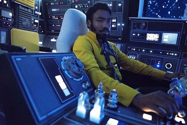 Lando en Han Solo: Una historia de Star Wars