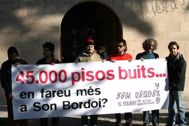 GOB protesta Son Bordoy
