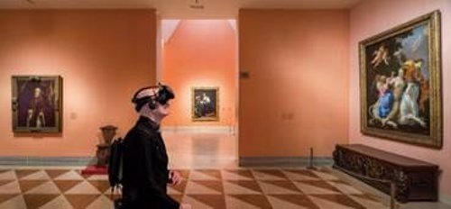 Experiencia en VR en el  Museo Nacional Thyssen-Bornemisza