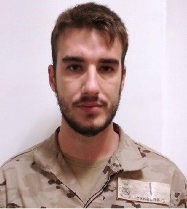 Muere el soldado de Infantería de Marina Antonio Carrero Jiménez en un accidente