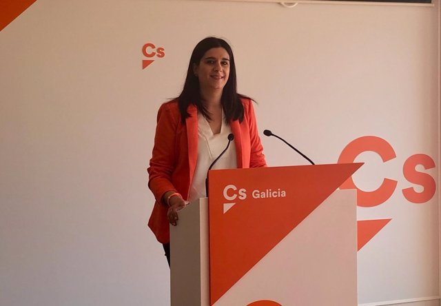 La portavoz de Ciudadanos en Galicia, Olga Louzao