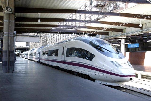 Tren AVE de Siemens Velaro