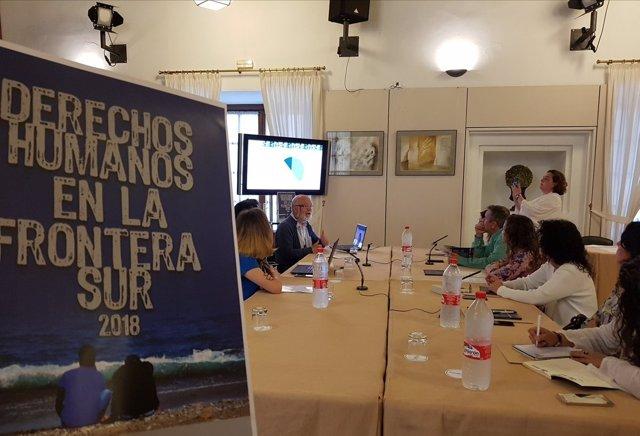 Presentación del Informe Derechos Humanoos en la Frontera Sur 2018