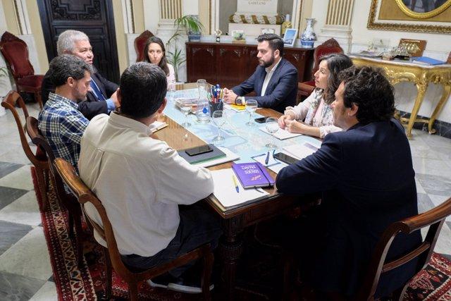 Reunión Diputación y Ayuntamiento por eficiencia energética