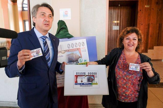 La ONCE dedica un cupón al Teatro Falla de Cádiz