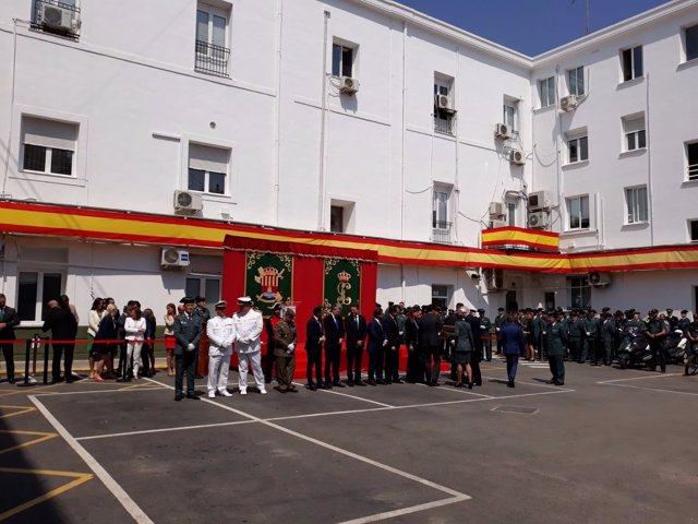 Bonig ha assistit al 174 aniversari de la Guàrdia Civil a Alacant